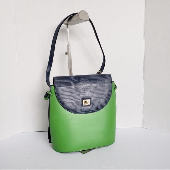 Vintage LANCEL Paris crossbody bag